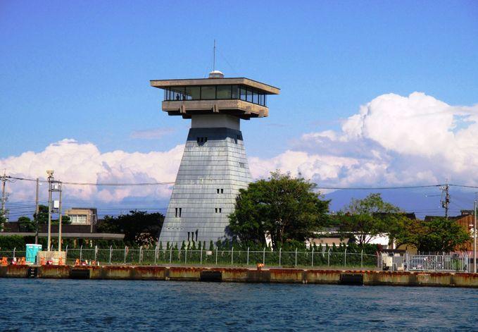 富山港展望台   富山市の観光公...